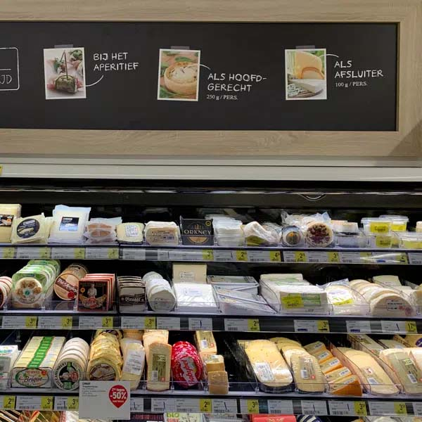 In-store inspiration: cheese for any occassion