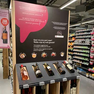 In-store inspiration: cooking studio at Albert Heijn XL, shopping for taste