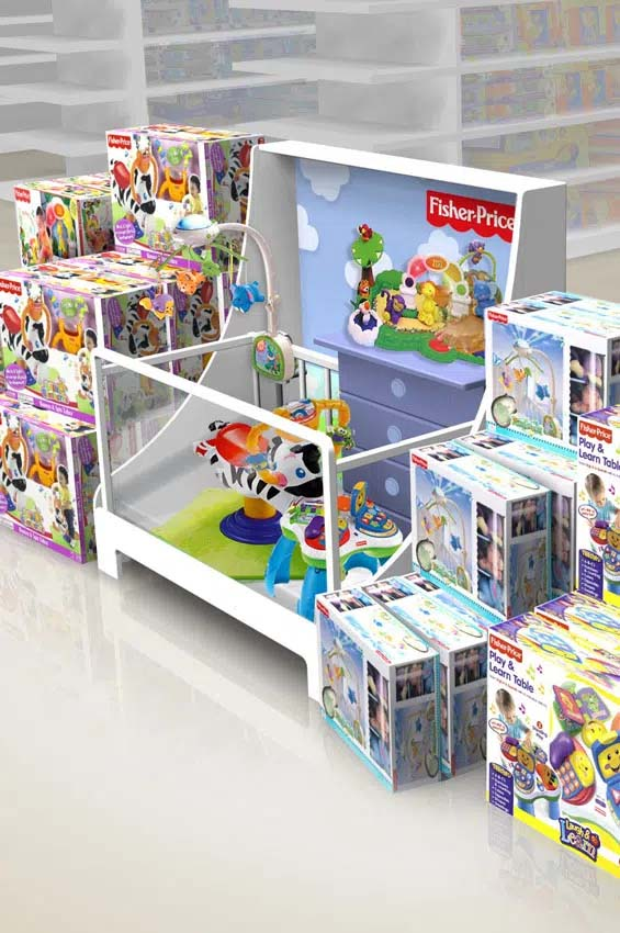 Retail POS material Fisher Price