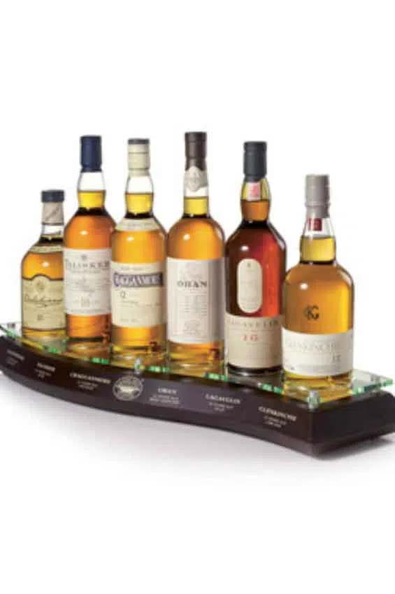 Whiskies Plinth Diageo